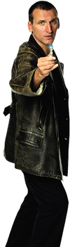 Ninth Doctor Transparent by tardisplus