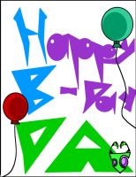 Happy B-day DA by INVADER-ZEA