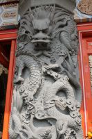 Dragon relief sculpture by joelshine-stock