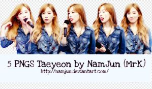 Share Stage: Pack PNG Taeyeon by NamJun