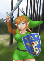 Alttp Link TG by Rezuban