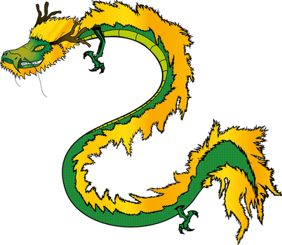 Chinese Dragon by Yarite