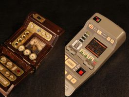 Star Trek Steampunk Tricorder by flosvensson