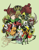 Ben10 version two by MrGreenlight
