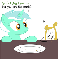 Lyra's Lyre is a Liar! by 9mmBrony