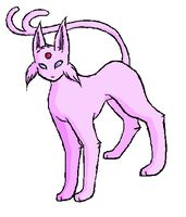 Paint-Espeon by Fang-Chan13