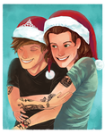 Larry (Merry) Christmas ! by xLilacNiallDoex