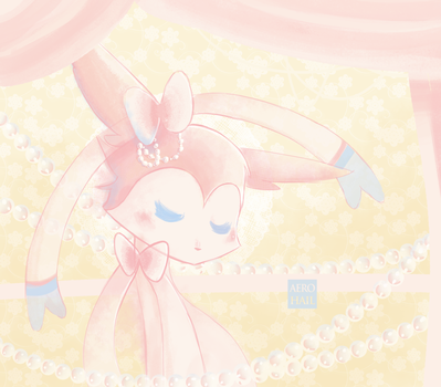 Pink and Pearls by oOnyaOo
