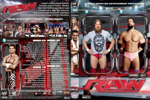 WWE Raw November 2013 DVD Cover by Chirantha