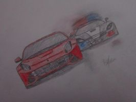 Need For Speed Rivals Drawing by Binary-Map