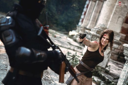 Rise of the Tomb Raider - survival by Anastasya01