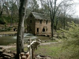 Little Rock - Old Mill 3 by ketchup311