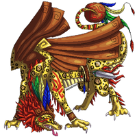 Hatched pixel egg: Aztec Dragon by DodoIcons