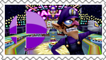 Waluigi for smash bros stamp by Cold-Clux