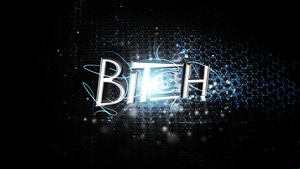 Bitch (Wallpaper 3) by Hardii