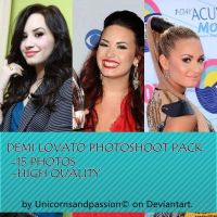 Demi Lovato Photoshoots Pack by Unicornsandpassion