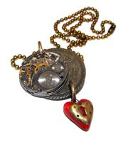 Locked Heart Necklace by JLHilton