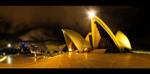 Sydney Opera House Nights by WiDoWm4k3r