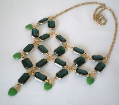 Emerald City Necklace by RetroRevivalBoutique