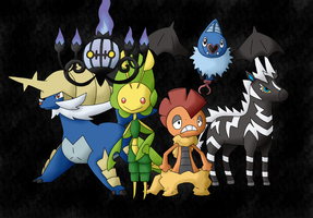 Pokemon Black Team by FinnishPokemonFan96
