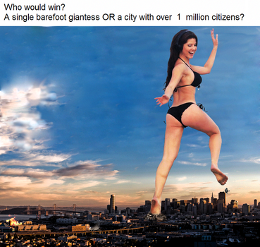 Amanda Cerny giantess meme [OLD] by eheh78