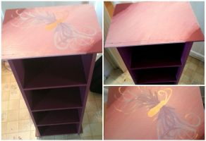Painted Cabinet by cechapman95
