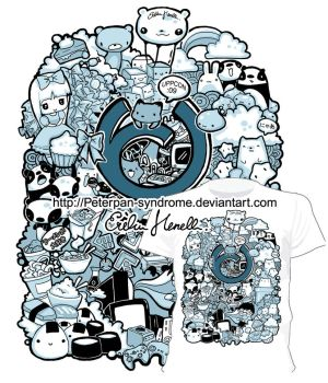 Uppcon T-shirt design by PeterPan-Syndrome
