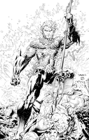 Jim Lee Justice League Variant Cover by TheVatBrain