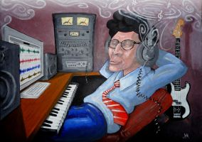 THE MUSIC PRODUCER by johnnyBgood007