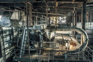Abandoned Power by 5isalive