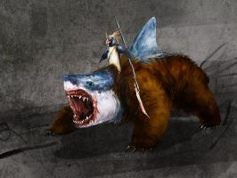 more shark bear by Wildforge