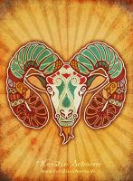 zodiac sign - aries by KerstinS