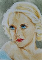 ATC Those Bette Davis Eyes by waughtercolors