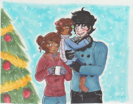 A Winter Family by 222222555555