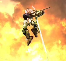 Strike Gundam by Warll2
