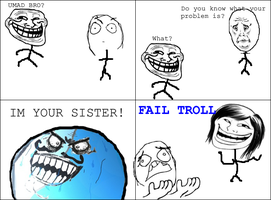 FAIL TROLL by megabloxer27