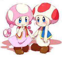 Toad And Toadette by XxNeeChanxX