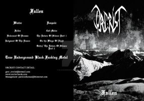Cover DVD_Orcrist by BlackHeresy