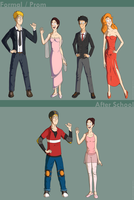 Frics Clothing Sheet (Formal and Hobby) by Cliffto
