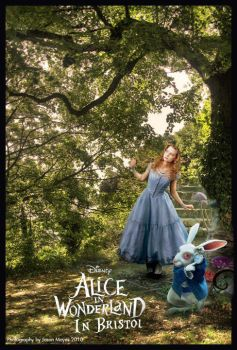 Alice in Wonderland in Bristol by FreakyDreamer