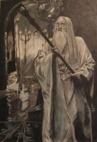 LOTR - Saruman by Cory-Closen