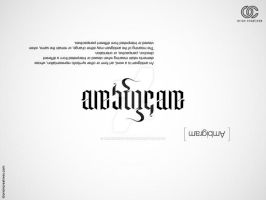 Ambigram by orioncreatives