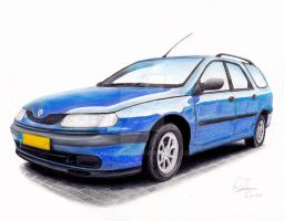 Renault Laguna_FINISHED by Laggtastic