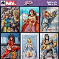 Marvel Divas 6x da fun by shaotemp