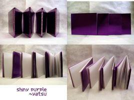 blank books - shiny purple by yatsu