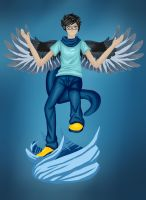 HS-Winged John by Goldarcanine