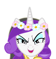 Rarity is..Evil Cadance? by DixieRarity