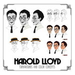 Harold Lloyd Model Sheet by Wickfield