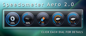 Speedometer Aero by Fury-Three