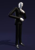 Slender man by half-rose